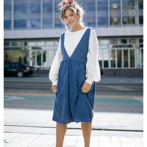 Clad & Cloth - Blue Dress